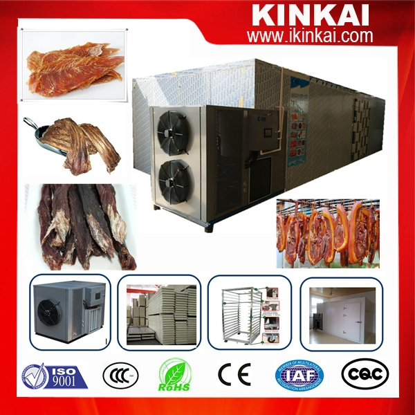 Hot air circulating dried meat sausage beef drying equipment/ dehydrator dryer machinary