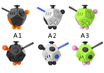 12 Sides Fidget Ball Cube for Children and Adults Anxiety Attention Toy / intelligence developmen toy