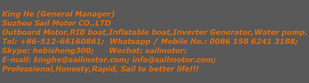 SAILSKI  1.2mm pvc inflatable boat 4.3m