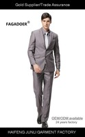 2014 High end brand 5 Pieces Coat Pant Vest White Mens Wedding Suit