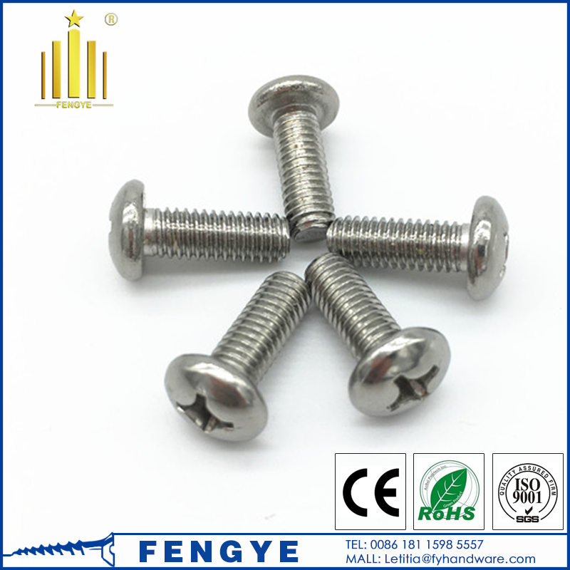 "#<strong>10</strong> x 3/4"" Phillips Pan head self drilling screw stainless steel 303"
