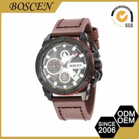 2016 Boscen High-End Vogue Mens Oem Production Branded Japan Movement Digital Wrist Watches