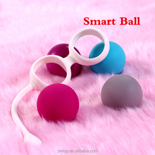 Smart Duotone Ben Wa Ball Weighted two and four balls Female Kegel Vaginal Tightening Machine Vibrators Sex Toys for Women