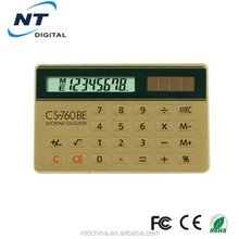 Promotional Gifts mini slim card pocket calculator