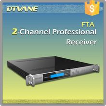 (DMB-9002 )Professional FTA DVB-S2 Receiver for 2*DVB-S2/S to 2*ASI out