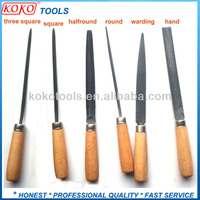 Wooden Handle Swiss Needle Files Locksmith