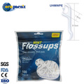FDA approved flosser dental floss plastic toothpicks -100-120pcs pack