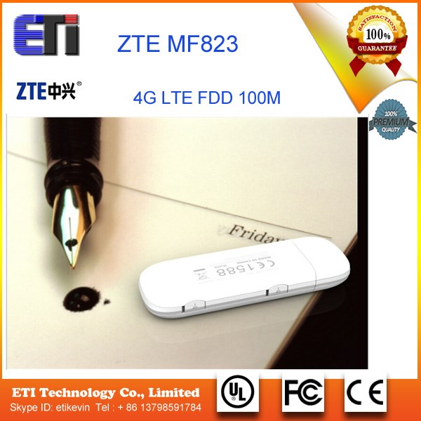 NEW ZTE MF823 Modem 4G LTE 150mbps CAT4 USB MOBILE BROADBAND MODEM UNLOCKED