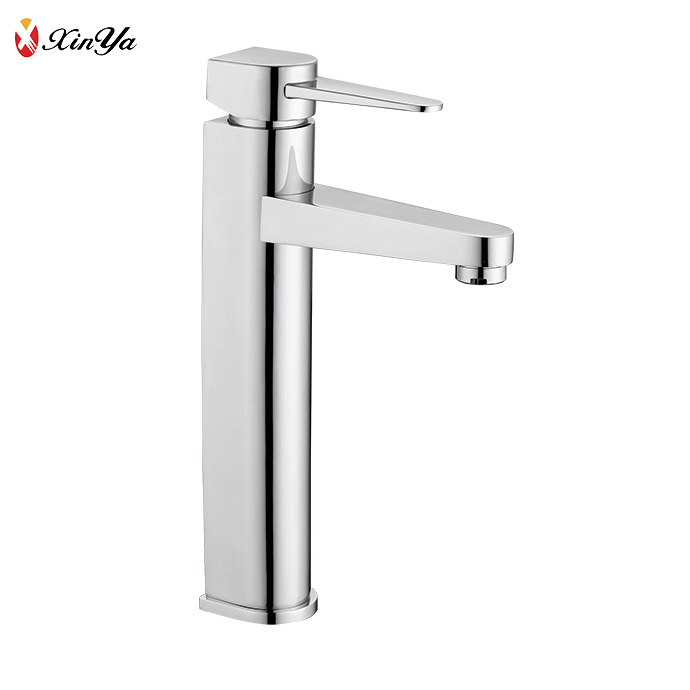 Hotel family Heightening single lever bathroom faucets wash basin mixer