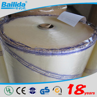 Clear and Yellowish Great Adhesion Performance Acrylic Glue Bopp Film Adhesive Tape Jumbo Roll