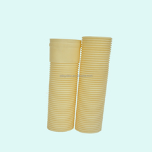 HDPE, PVC Double wall corrugated tube/communication pipe Buried in the ground without deformation