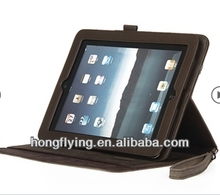 OEM case for New ipad/stand case/360 degree rotating leather case in 2014