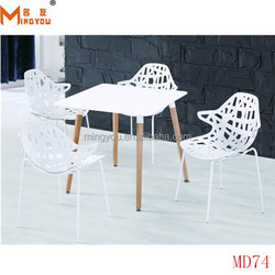 new design Wood Dining Table with chairs