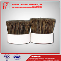 China Goods Wholesale Flower Boiled Bristle , Natural Bristle Painting Brush