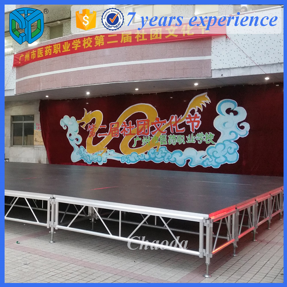 New Design Portable Indoor Stage For Show
