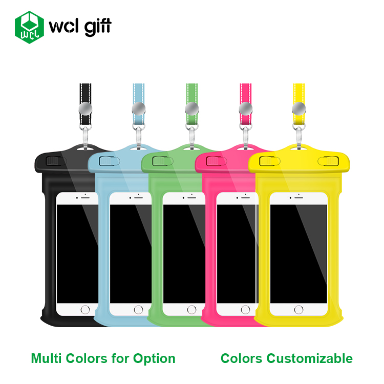 Promotional PVC waterproof bags Dry Pouch Outdoor Cell Phone case for cell phone