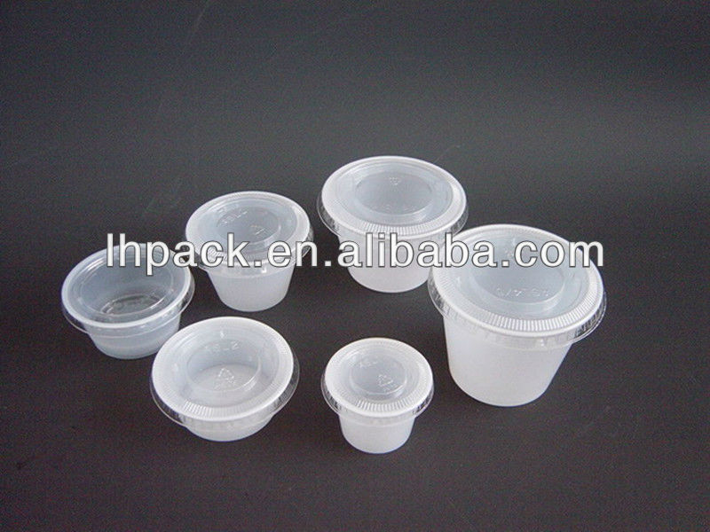 Plastic Disposable Colored Portion Cups