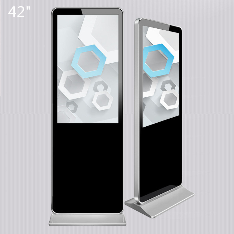 Star player 42 Inch HD Screen Floor Standing Digital Signage Display For Innovative Advertising
