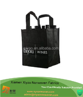 all color customized artwork non woven recycle bag for wine