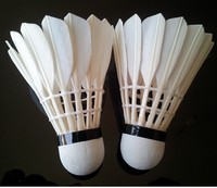 duck shuttlecocks/duck feather for shuttlecock/white feathers for sale