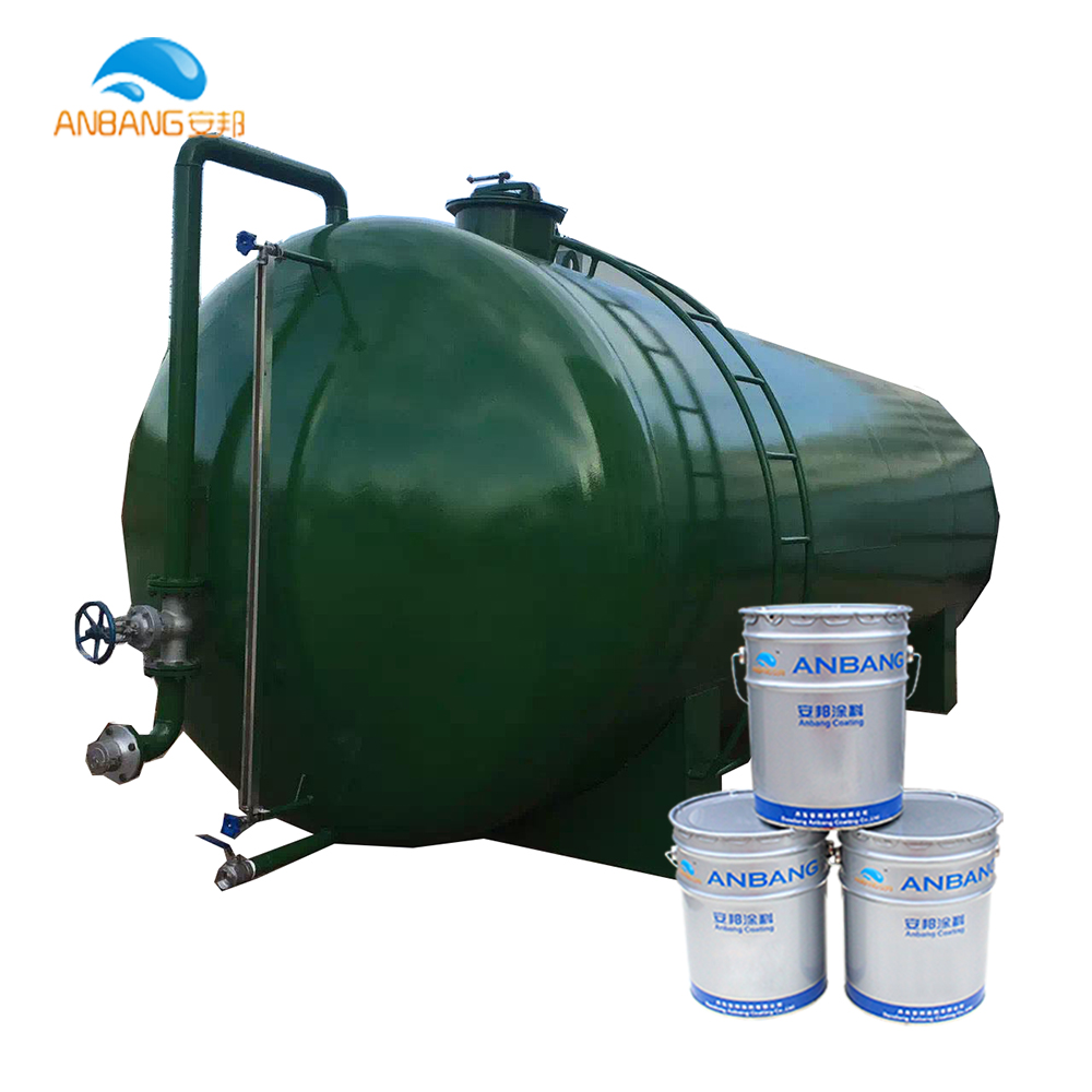 AB323 oil tank corrosion protection chemical resistant solvent-borne epoxy coal tar paint