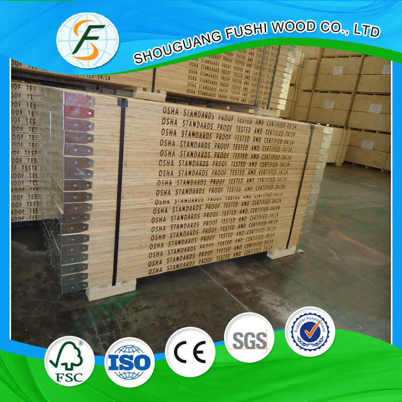 LVL Wooden Boards Scaffolding/High Quality Laminated Scaffold Planks