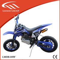 2016 cheap hot sales 49cc mini dirt bike 2stroke 49cc motorcycle with CE EPA