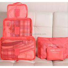 hot sell travelling bag,travel bag in luggage bag, travel organizer bag set 5pcs