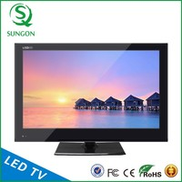 TV LED 15-24 inch design 2016+LED Flat Screen Television With DVD, USB/SD, Game,