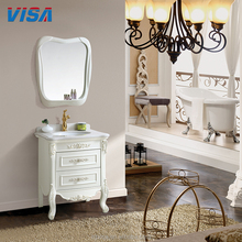 New shower white free standing cabinet corner pvc bathroom vanity