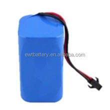 li ion Rechargeable Batteries 4400mah 7.4V 18650 lion battery for Electric device