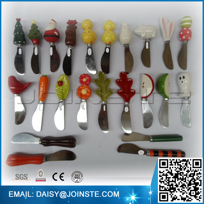 All kinds of cute cartoon ceramic knife