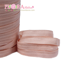 Unique design custom wholesale nylon elastic ribbon band