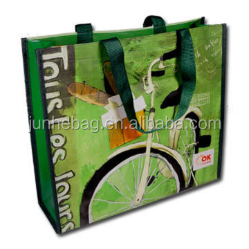 Pp Woven Laminated-shopping Bag/Reusable Fashion Tote Bags