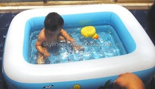 110x160cm size children play pool inflatable swimming pool for childen