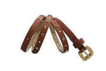 casual indian genuine leather beaded leather belts