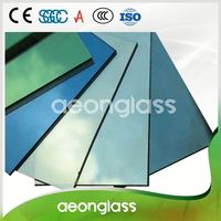 High Quality Blue Green Reflective Glass