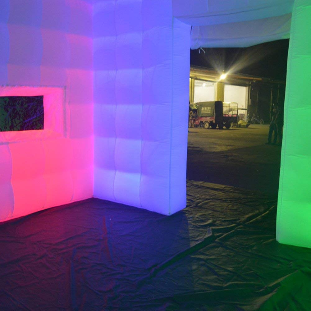 Portable LED Lighting Inflatable Photo Booth For Sale