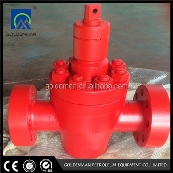 API 6A hydraulic choke valve for oilfield