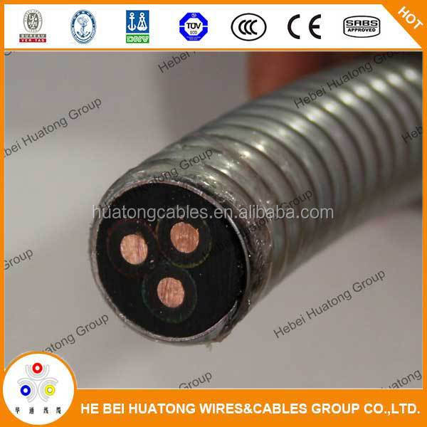 China supplier 42mm2 electric submersible pump cable for pump systems