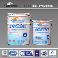 epoxy pouring adhesive, for wet steel sheet encased reinforcement