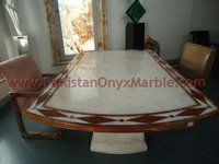 modern custom design onyx table