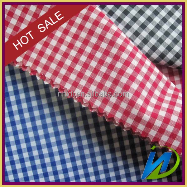 Yarn dyed 65 polyester 35 cotton woven shirt fabric