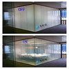 Special self-adhesive glass Curved shape transparent smart window glass