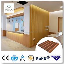 Rucca Wood PVC Composite Wall Panels for Interior Design 159*10mm