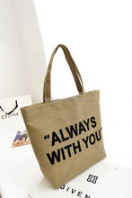 Fashion discount Eco-Friendly Traveling Canvas promotional canvas shopping bag