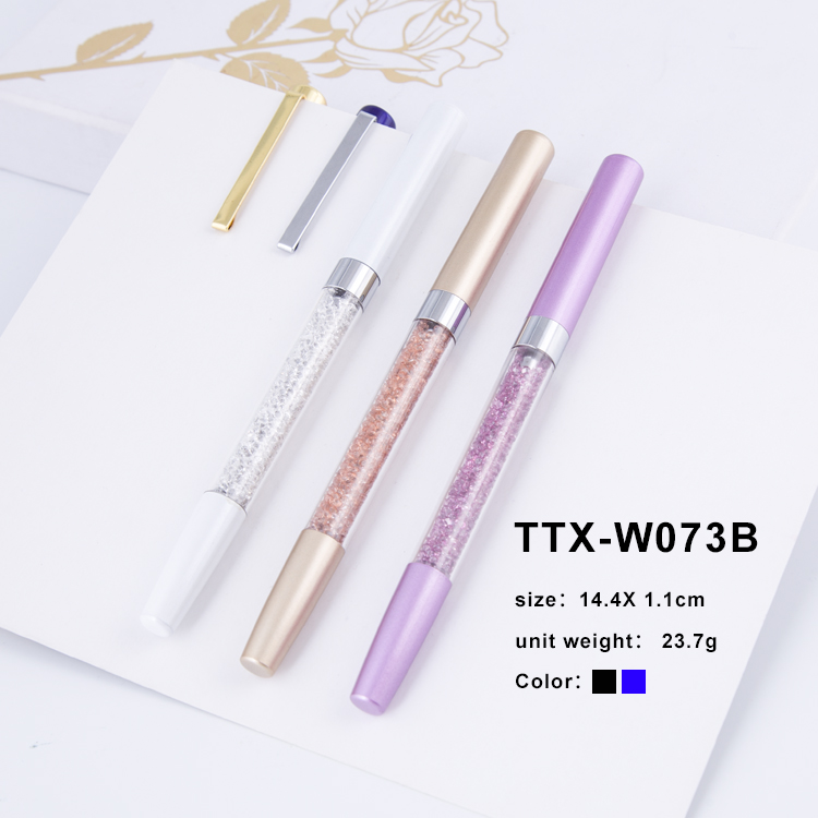 2018 Hot Sale Gift crystal pen custom color metal roller pen gel personalized pen