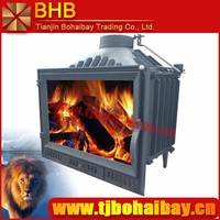 BHB own factory cast iron material insert wood burning fireplace
