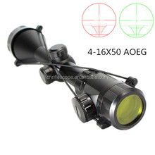 4-16x50 AOEG china manufactor hunting accessories rifle scope