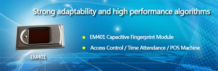 EM401 Low Price Capacitive Biometric Fingerprint Sensor